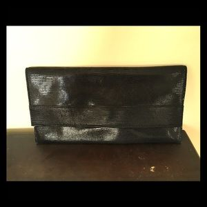 Banana Republic leather clutch